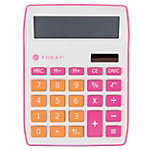 Calculatrice de bureau Foray Generation 10 chiffres Rose