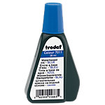 Encre pour tampon Trodat 7011 Bleu 4 x 7.6 cm pour Tampons encreurs Trodat 28 ml