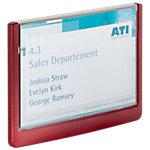 Plaque de porte DURABLE Acrylique, Plastique ABS 14.9 x 10.6 cm