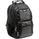 Sac à dos pour PC portable Wenger Pilier Premium Noir, gris 38 x 25 x 48 cm