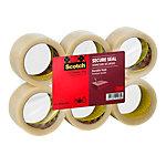 Ruban adhésif d'emballage Scotch 50mm x 66m Transparent 6 rouleaux