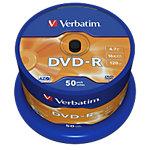 DVD R Verbatim 4.7 go 50 unités