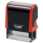 Tampon adresse Trodat Printy 4913, multicolore 6 Lignes 2.2 x 5.8 cm Rouge