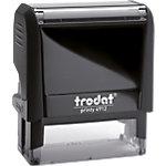 Tampon adresse Trodat Printy 4912 5 Lignes 1.8 x 4.7 cm Noir