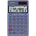 Calculatrice de poche Casio SL 320TER+ 12 chiffres bleu
