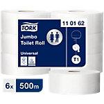 Papier toilette Tork T1 Advanced Jumbo 1 épaisseur 6 Rouleaux de 2500 Feuilles