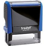 Tampon adresse Trodat Printy 4913 6 Lignes 7.4 x 3.5 x 8.5 cm Bleu