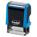 Tampon adresse Trodat Printy 4911 4 Lignes 1.4 x 3.8 cm Bleu