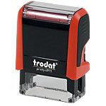 Tampon adresse Trodat Printy 4911 4 Lignes 1.4 x 3.8 cm Rouge
