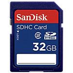 Carte mémoire SanDisk SD™ High Capacity 32 Go