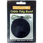 Serre câbles D Line Band Noir 20 mm x 1.2 m