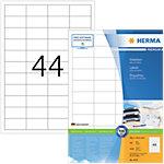 Étiquettes multifonctions HERMA Premium Super print Blanc 48,3 x 25,4 mm 100 Feuilles