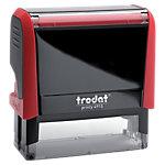Tampon adresse Trodat Printy 4915 7 Lignes 2.5 x 7 cm Rouge