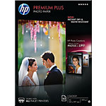 Papier photo jet d'encre HP Premium Plus Blanc Brillant 300 g