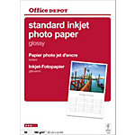 Papier photo jet d'encre Office Depot Premium Blanc Brillant 180 g