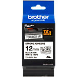 Ruban d'étiquettes Brother TZES231 Noir sur Blanc 12 mm x 8 m 8 m