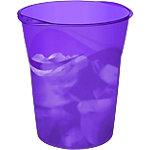 Corbeille à papier CEP Happy Violet Polypropylène 30,5 x 29 x 33,4 cm