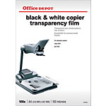 Transparents Office Depot 100 Microns A4 210 x 297 mm 100 Feuilles