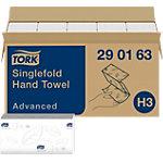 Essuie mains Tork Advanced 2 épaisseurs Pliage en V Blanc 15 Unités de 250 Feuilles