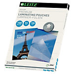 Pochette de plastification Leitz brillant 2 x 100 microns transparent 100 unités