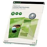 Pochette de plastification Leitz brillant 2 x 80 microns transparent 100 unités