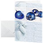 Carte de Noël Sigel Joyeuses fêtes de fin d'année 220 g
