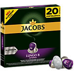 Capsules en aluminium Jacobs Lungo 8 Intenso 20 Unités de 5.2 g