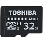 Carte mémoire micro SDHC Toshiba M203 32 Go