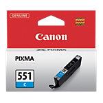 Cartouche jet d'encre Canon D'origine CLI 551C Cyan