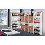 Éléments d'étagère Kerkmann Blanc 6 étagères 800 x 325 x 2 250 mm