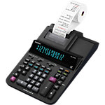 Calculatrice de bureau imprimante Casio DR 420RE 12 chiffres Noir