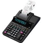 Calculatrice de bureau imprimante Casio DR 420RE Avec rouleau 12 chiffres Noir