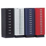 Armoires pour dossiers suspendus Bisley A4 9 tiroirs 27.9 x 42.9 x 94 cm Noir