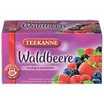 Thé Goût fruité   saveur fruits des bois. TEEKANNE 20 Unités de 2.5 g