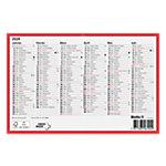 Biella Calendrier grand format horizontal  A5 2020