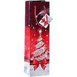 Sacs pour bouteilles Sigel Noël Rouge, blanc 157 g