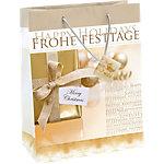 Sacs cadeaux Sigel Paillettes dorées Doré 157 g