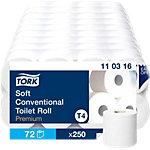 Papier toilette Tork Premium 3 épaisseurs 72 Rouleaux de 250 Feuilles