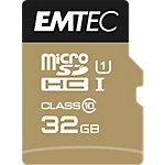 Carte mémoire SDHC EMTEC CLASS10 32 Go