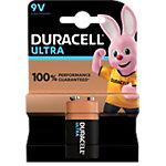 Piles Duracell Ultra Power 9V MX1604 6LR61 9V Alcaline