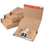 Boites postales COLOMPAC 328 (L) x 200 (P) x 100 (H) mm Marron Paquet de 20 unités