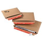 Enveloppes ColomPac CP01502 Marron 270 (l) x 185 (P) x 50 (H) mm Marron 20 Unités