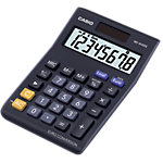 Calculatrice de bureau Casio MS 8VER II 8 chiffres Noir