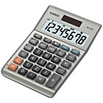 Calculatrice de bureau Casio MS 80B 8 chiffres Gris