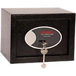 Coffre fort Phoenix SS0721K Serrure à clé Noir 230 x 170 x 170 mm