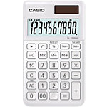Calculatrice de poche Casio SL 1000SC WE 10 chiffres Blanc