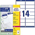 Étiquettes universelles Avery Zweckform L7163 40 Blanc 99,1 x 38,1 mm 14 Feuilles de 40 Étiquettes