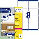 Étiquettes d'adresse AVERY Zweckform BlockOutT™ Blanc 99,1 x 67,7 mm 800 Unités