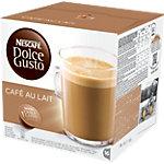 Café NESCAFÉ Dolce Gusto Dolce Gusto Café au lait 16 Unités de 10 g