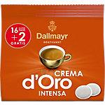 Dosettes de café Crema d'Oro Dallmayr 16 Unités de 7.25 g